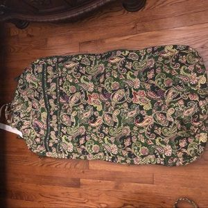 Authentic Vera Bradley garment bag